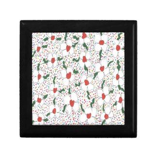 Motif floral classique boîte à souvenirs