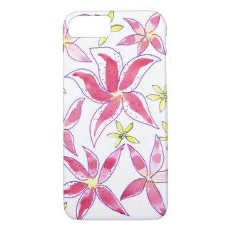motif floral d'aquarelle coque iPhone 7