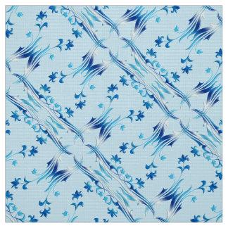 motif floral de damassé tissu