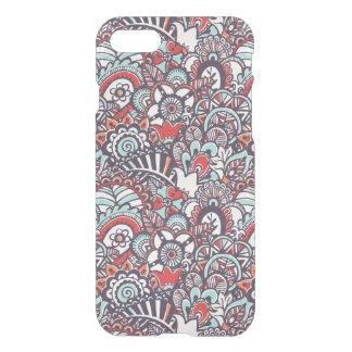 Motif floral de griffonnage de Paisley Coque iPhone 8/7