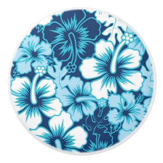 Motif floral de ketmie de surf