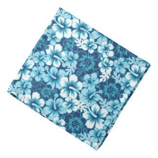 Motif floral de ketmie de surf bandanas