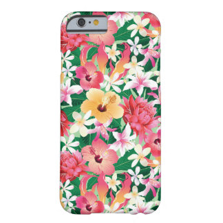 Motif floral de ketmie tropicale coque barely there iPhone 6