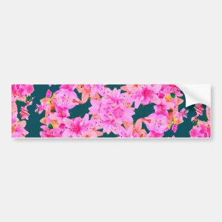 Motif floral de Mulitcolored Autocollant Pour Voiture