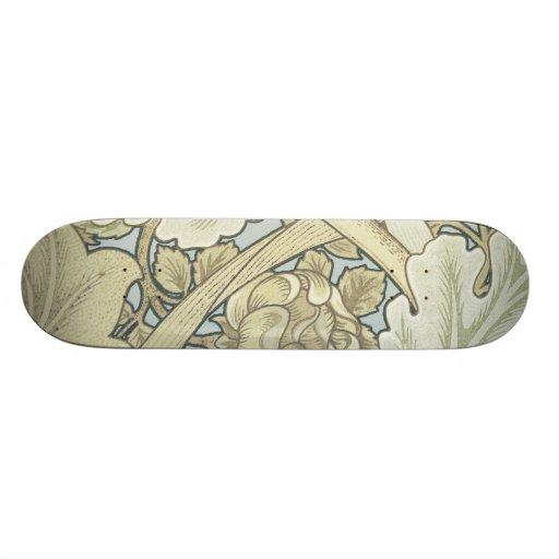 Motif floral de Nouveau d'art vintage de concepteu Plateau De Planche À Roulettes