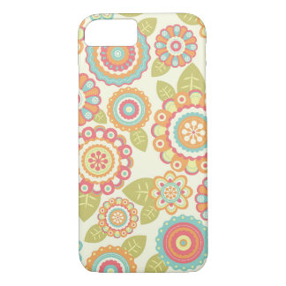 Motif floral de rétros fleurs géniales de Boho Coque iPhone 7