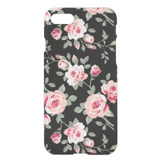 Motif floral de roses coque iPhone 7