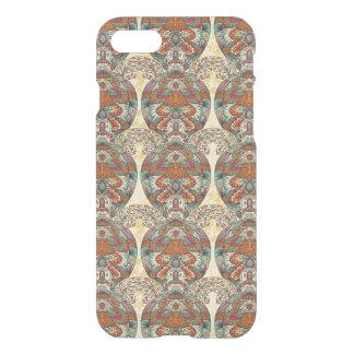 Motif floral de tortue coque iPhone 7