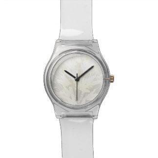 Motif floral élégant et sensible - montre montres