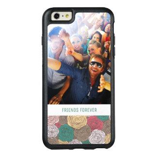 Motif floral élégant fait sur commande de photo et coque OtterBox iPhone 6 et 6s plus