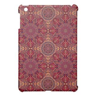 Motif floral ethnique abstrait coloré De de Coque iPad Mini