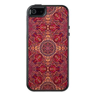 Motif floral ethnique abstrait coloré De de Coque OtterBox iPhone 5, 5s Et SE