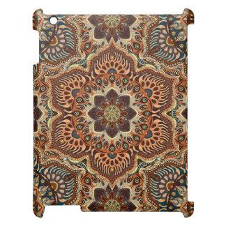 Motif floral ethnique abstrait coloré De de Coques Pour iPad
