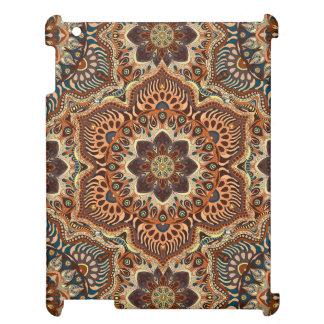 Motif floral ethnique abstrait coloré De de Étuis iPad