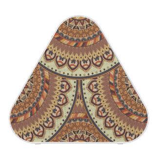Motif floral ethnique abstrait coloré De de Haut-parleur Bluetooth