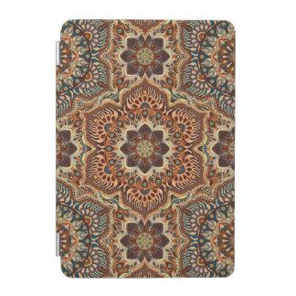 Motif floral ethnique abstrait coloré De de Protection iPad Mini