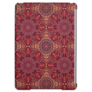 Motif floral ethnique abstrait coloré de mandala