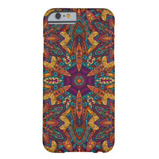 Motif floral ethnique abstrait coloré de mandala coque barely there iPhone 6