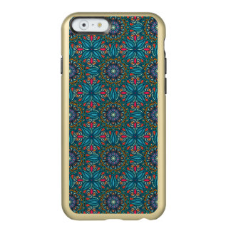 Motif floral ethnique abstrait coloré de mandala coque iPhone 6 incipio feather® shine