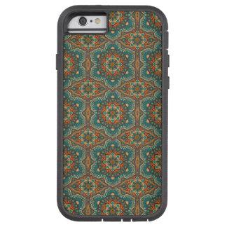 Motif floral ethnique abstrait coloré de mandala coque tough xtreme iPhone 6