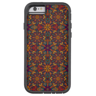 Motif floral ethnique abstrait coloré de mandala coque tough xtreme iPhone 6