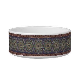 Motif floral ethnique abstrait coloré de mandala écuelle