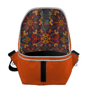 Motif floral ethnique abstrait coloré de mandala sacoche