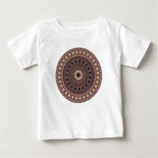 Motif floral ethnique abstrait coloré de mandala t-shirt pour bébé