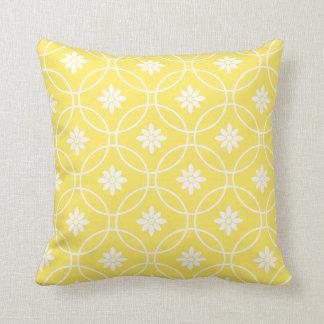 motif g om trique jaune coussins. Black Bedroom Furniture Sets. Home Design Ideas