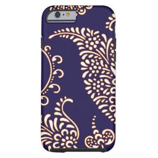 Motif floral girly vintage de henné de Paisley de