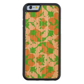 Motif floral graphique coque iPhone 6 bumper en cerisier