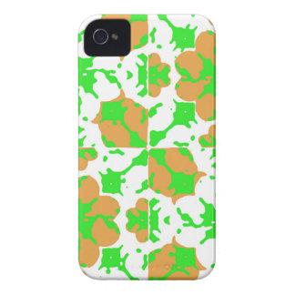 Motif floral graphique coques iPhone 4 Case-Mate