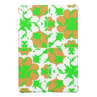 Motif floral graphique étuis iPad mini