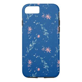 Motif floral grunge coque iPhone 7