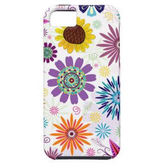 Motif floral heureux coques iPhone 5 Case-Mate
