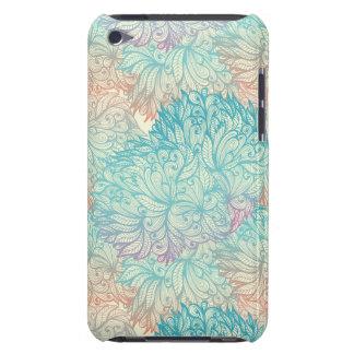 Motif floral multicolore de griffonnage coque iPod touch