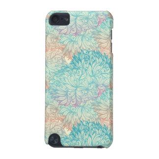 Motif floral multicolore de griffonnage coque iPod touch 5G