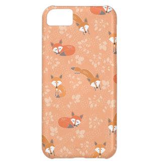 Motif floral rusé coque pour iPhone 5C