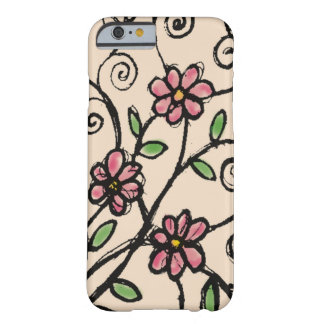 Motif floral rustique coque iPhone 6 barely there