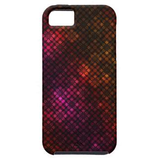 Motif foncé de diamant coques iPhone 5 Case-Mate