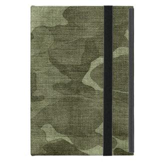 Motif froissé de camouflage de Camo Étui iPad Mini