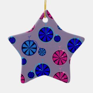 Motif fruité de tour ornement étoile en céramique