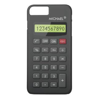 Motif Geeky drôle de calculatrice personnalisé Coque iPhone 7 Plus