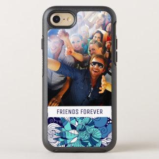 Motif génial | de coquillage votre photo et texte coque OtterBox symmetry iPhone 8/7
