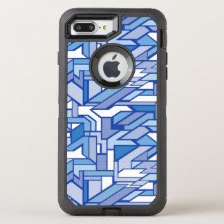 Motif géométrique 2 coque otterbox defender pour iPhone 7 plus