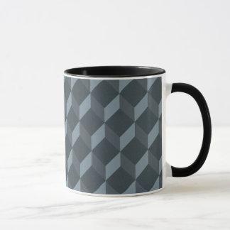 Motif géométrique abstrait d'arrière - plan mug