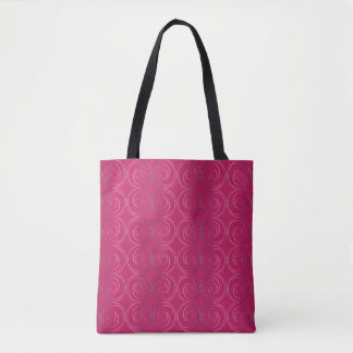 Motif géométrique abstrait sac