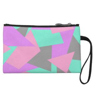 motif géométrique coloré de bloc élégant de anse