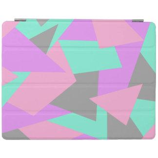 motif géométrique coloré de bloc élégant de protection iPad