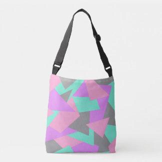 motif géométrique coloré de bloc élégant de sac